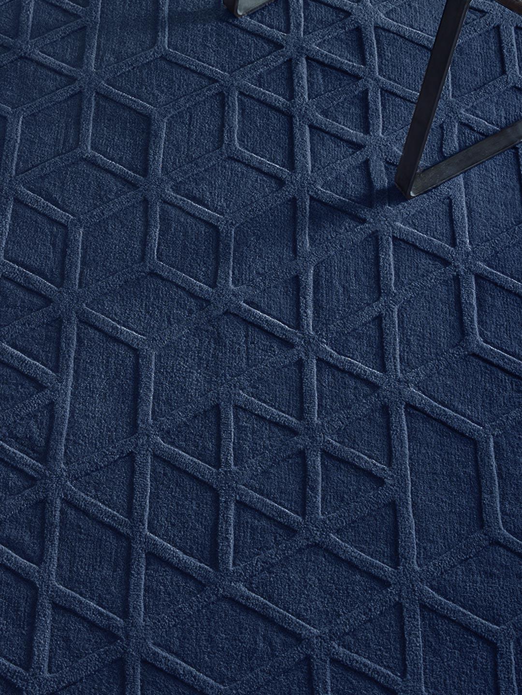 Lima pure wool nay handtufted rug insitu