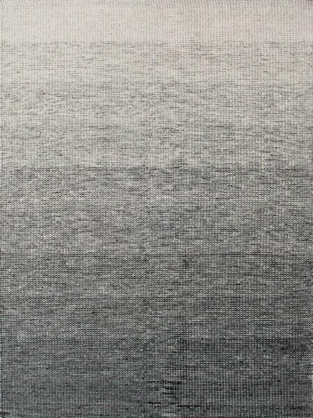 Braid ombre flatweave designer rug in pure wool