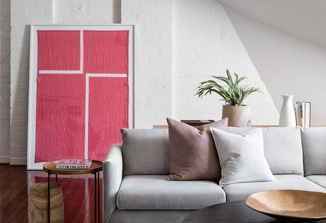 The Real Estate Stylist and artwork for the home