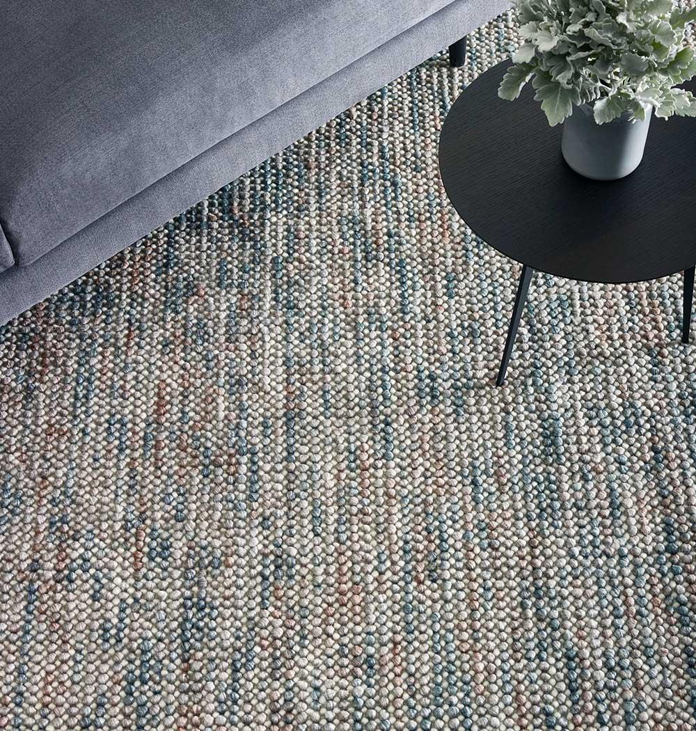 textured and loop pile rugs