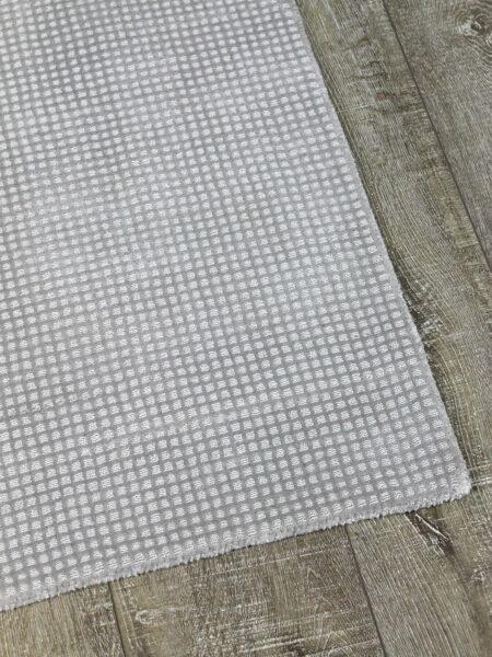 MONACO Silver Rug Handwoven in ECONYL® 100% regenerated nylon