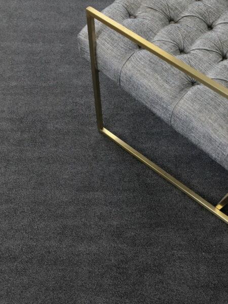 RITZ Graphite Rug Handwoven in ECONYL® 100% regenerated nylon - lifestyle image
