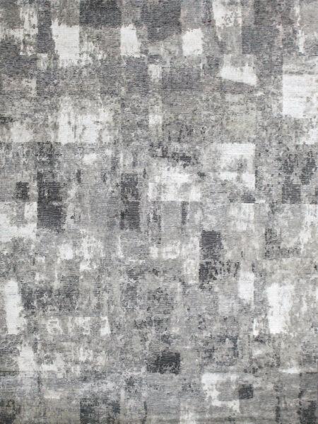 Zagreb Tauple luxury handknotted rug in wool and artsilk