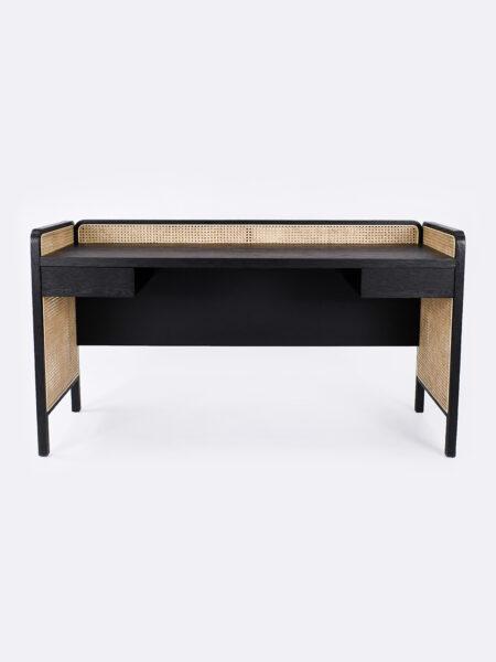 Hugo Rattan Black Desk
