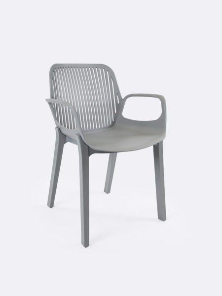 Axel plastic chair in Grey colour