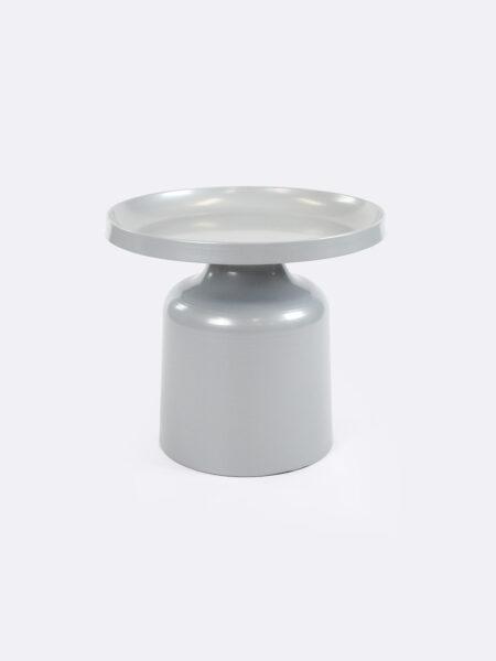 Lulu metal side table in Grey colour
