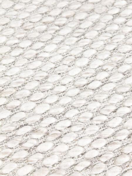 Palmas Ivory flatweave rug handmade in 100% wool - detail image