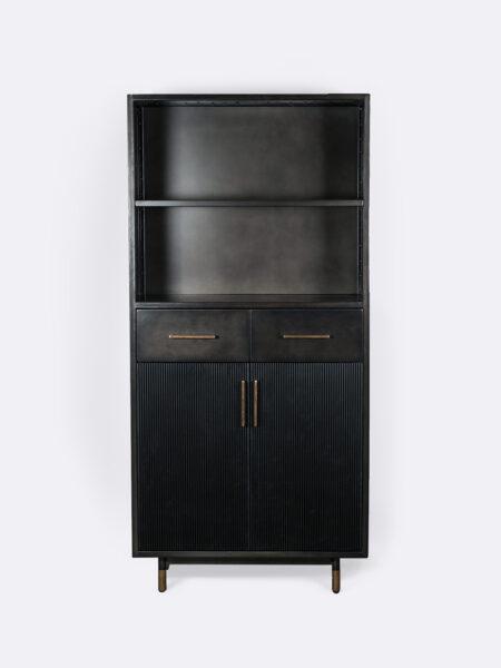 Frankie Black Cabinet