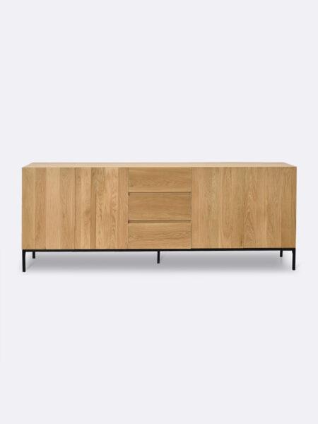 Patrick sideboard with oak veneer and mdf