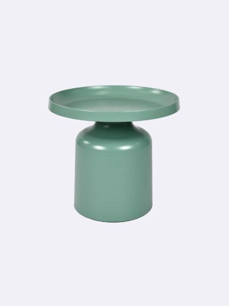 Lulu Side Table in Jade green