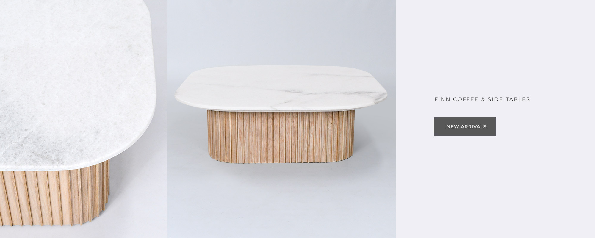 finn coffee and side tables