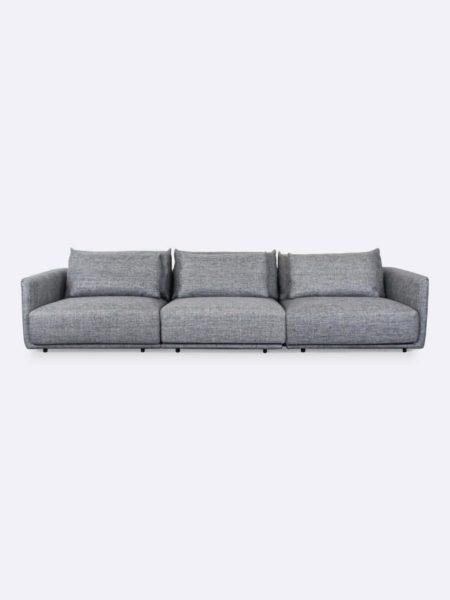 Stella Lounges x 3 upholstered in Quarry grey fabric