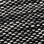 Subi Black Grey Rugs Swatch